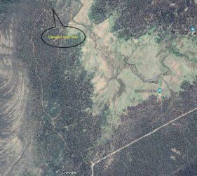 Dingo Hill Track campsite