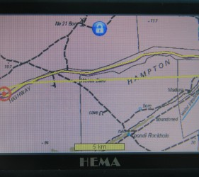 GPS Location of campsite near Madura