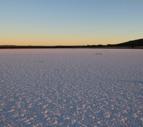 Lake Gairdner at Sunrise