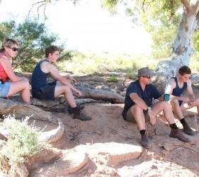 Kylie, Angus, Mark & Jack