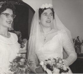 Eileen & Clare Abbott at Clare's Wedding