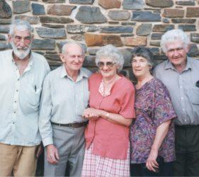 1997 Peter Abbott, Jim, Eileen, Clare & Jack O'Dea