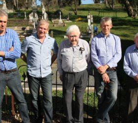 Peter, John, Jack, Vin & Jim O'Dea