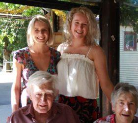 Gabby, Rachael, Jack & Clare - Christmas 2017