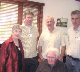 2008 Clare, Vin, John, Jack & Peter