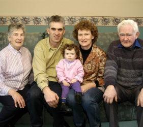 Clare, Peter, Katrina, Heather & Jack