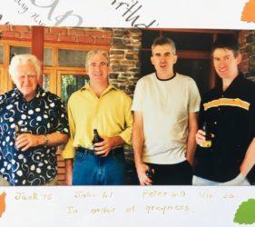 Jack, John, Peter & Vin