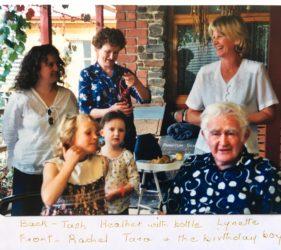 Tash, Rachael, Heather, Tara, Lynette & Jack