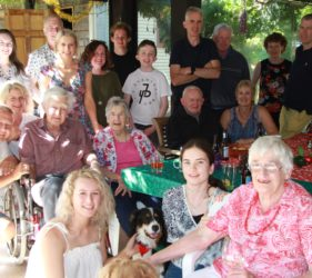 O'Dea extended family Christmas 2017